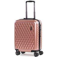 ROCK Allure TR-0192/3-S, rózsaszínű - TSA záras bőrönd