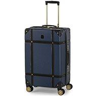 ROCK Vintage TR-0193/3-M, kék - TSA záras bőrönd