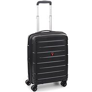 Roncato Flight DLX 55 EXP, fekete - TSA záras bőrönd