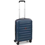 Roncato Flight DLX 55 EXP, kék - TSA záras bőrönd