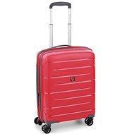 Roncato Flight DLX 55 EXP, piros - TSA záras bőrönd