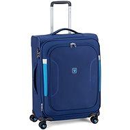 Roncato City Break 63 cm, kék - TSA záras bőrönd