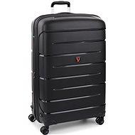 Roncato Flight DLX 79 EXP, fekete - TSA záras utazóbőrönd