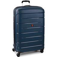 Roncato Flight DLX 79 EXP, kék - TSA záras bőrönd