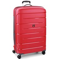 Roncato Flight DLX 79 EXP, piros - TSA záras bőrönd