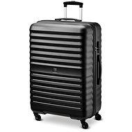 Modo by Roncato VENUS bőrönd, 76,5 cm, 4 kerék, fekete - TSA záras utazóbőrönd