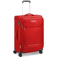 Roncato JOY bőrönd, 63 cm, 4 kerék, EXP., piros - TSA záras bőrönd