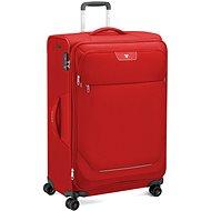 Roncato JOY bőrönd, 75 cm, 4 kerék, EXP., piros - TSA záras bőrönd