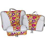 Mia Toro MA-039 Pop Love - Packing Cubes