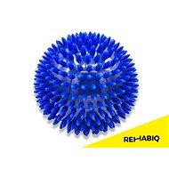 Rehabiq Hedgehog masszázslabda kék, 10 cm