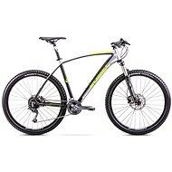 "ROMET MUSTANG 27,5 Black - Green, mérete M/17"" - Mountain bike 27.5"""