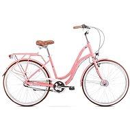 """ROMET POP ART 26 pink, S méret / 17"""" - Városi kerékpár"""