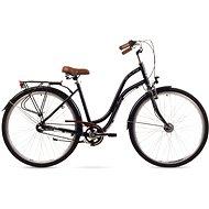"""ROMET POP ART 26 black, M méret / 19"""" - Városi kerékpár"""