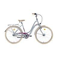 """ROMET POP ART 26 grey, M méret / 19"""" - Városi kerékpár"""