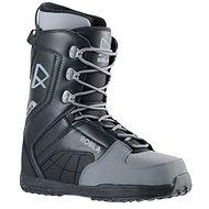 Robla Smooth Black/Grey méret: 38 EU/ 240 mm - Snowboard cipő
