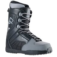 Robla Smooth Black/Grey - Snowboard cipő