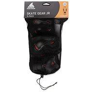 Rollerblade SKATE GEAR JUNIOR 3 PACK black XXXS-es méret - Védőfelszerelés