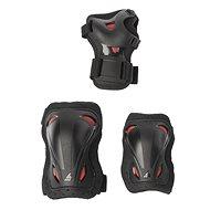 Védőfelszerelés Rollerblade Skate Gear Junior 3 Pack black/red