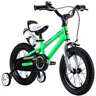 """RoyalBaby FREESTYLE 14"""" zöld - Gyerek kerékpár"""