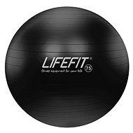 Lifefit anti-burst - 75 cm, fekete - Fitnesz labda
