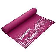 Lifefit Slimfit gimnasztikai szőnyeg, bordó - Alátét/szőnyeg