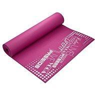 Lifefit Slimfit plus gimnasztikai szőnyeg, bordó - Fitnesz szőnyeg