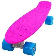 Sulov Neon Speedway rózsaszín-kék-fehér - Penny board gördeszka