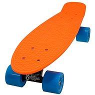 Sulov Neon Speedway narancsszín-kék - Penny board gördeszka