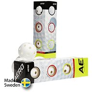 SALMING Aero Plus Ball 4-pack White - Floorball labda