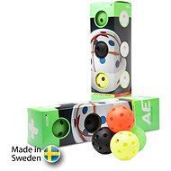 SALMING Aero Plus Ball 4-pack Colour - Floorball labda