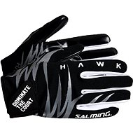 SALMING Hawk Gloes Black/Grey XS - Kesztyű