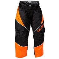 SALMING Atlas Pant JR Orange / Black 128 - Nadrág