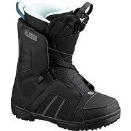 Salomon Scarlet Black/Black/Sterling B méret 38 EU / 240 mm - Snowboard cipő