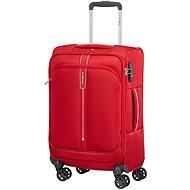 Samsonite Popsoda SPINNER 55 LENGTH 35 cm Red - TSA záras bőrönd