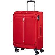 Samsonite Popsoda SPINNER 66 EXP Red - TSA záras bőrönd