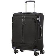 Samsonite Popsoda SPINNER 55 LENGTH 40 cm Black - TSA záras bőrönd