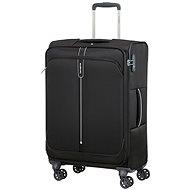 Samsonite Popsoda SPINNER 66 EXP Black - TSA záras bőrönd