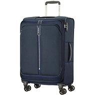 Samsonite Popsoda SPINNER 66 EXP Dark Blue - TSA záras bőrönd