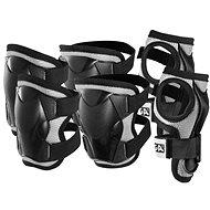 Stiga Comfort JR, fekete XS - Kerékpáros védőfelszerelés