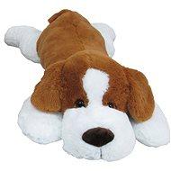 Plüss kutya 90 cm, barna - Plüssjáték