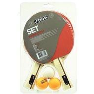 Stiga Perform Set - 2 ütő, három labda - Pingpongszett