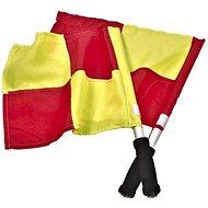 Select piros - sárga zászlók - Labdarúgó játékvezető felszerelés