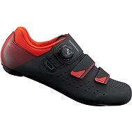 SHIMANO SH-RP400MO Országúti cipő - fekete/narancsszín - Kerékpáros cipő
