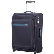 American Tourister Airbeat Upright 55 EXP True Navy - TSA záras utazóbőrönd