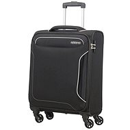 American Tourister Spinner 55 fekete - TSA záras bőrönd