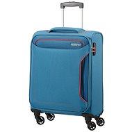 Amerikai Tourister Spinner 55 Denim Blue - TSA záras bőrönd