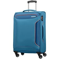 American Tourister Holiday Heat Spinner 67 Denim Blue - TSA záras bőrönd