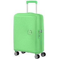 American Tourister Soundbox SPINNER 55/20 EXP TSA Spring Green - TSA záras bőrönd