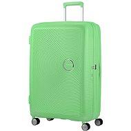 American Tourister Soundbox SPINNER 77/28 EXP TSA Spring Green - TSA záras bőrönd