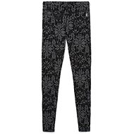 Smartwool W Merino 250 Baselayer Pattern Bottom Black Digital Snowflake - Nadrág
